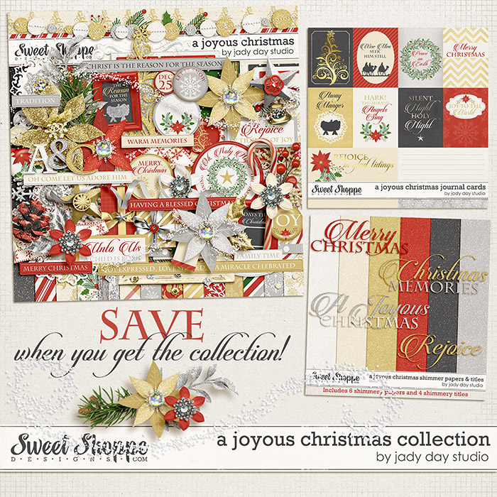 A Joyous Christmas Collection by Jady Day Studio