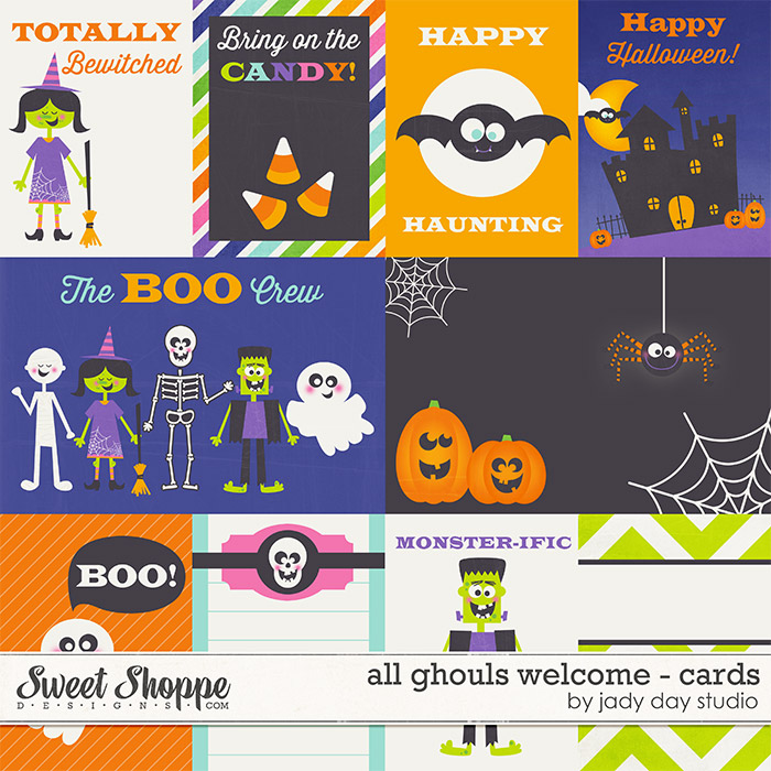 All Ghouls Welcome - Cards by Jady Day Studio