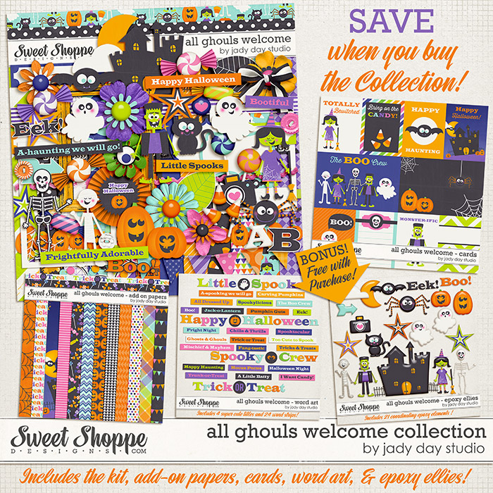 All Ghouls Welcome Collection by Jady Day Studio
