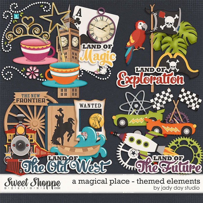 A Magical Place - Themed Elements by Jady Day Studio