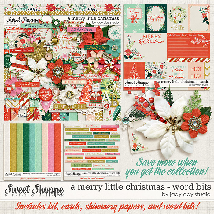 A Merry Little Christmas Collection by Jady Day Studio