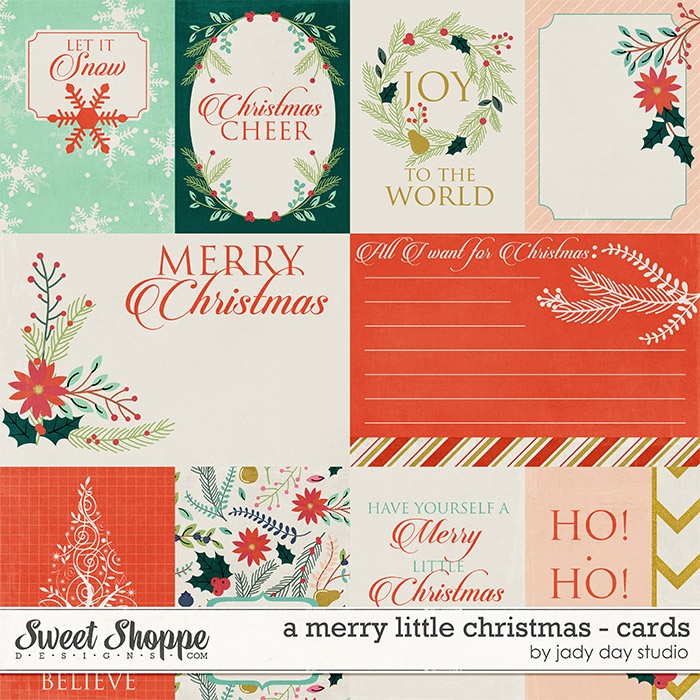 A Merry Little Christmas - Cards by Jady Day Studio