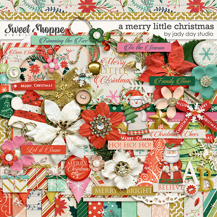 A Merry Little Christmas by Jady Day Studio
