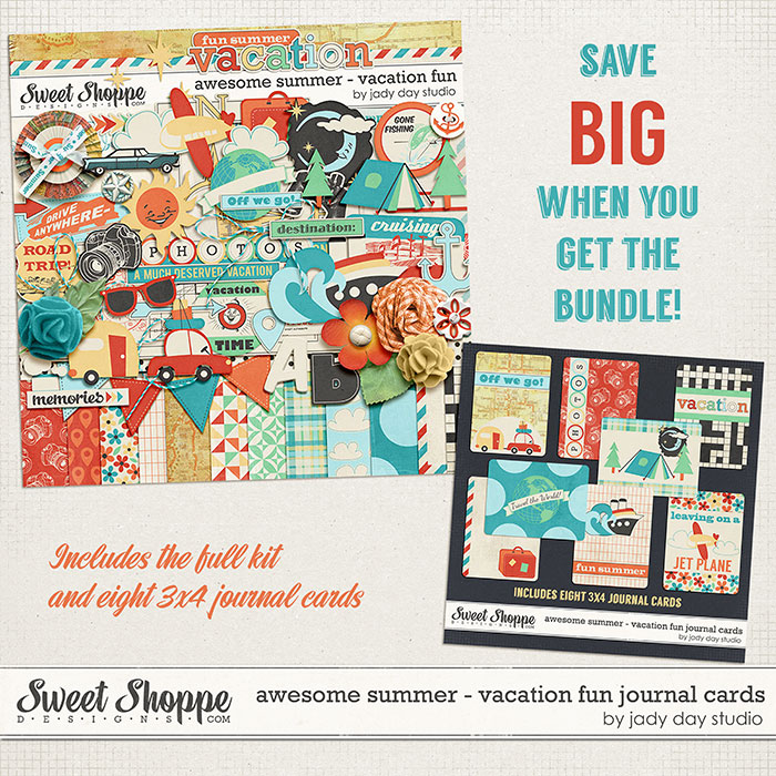 Awesome Summer - Vacation Fun Bundle by Jady Day Studio