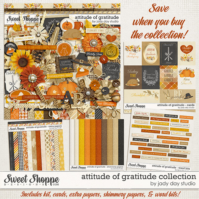 Attitude of Gratitude Collection by Jady Day Studio