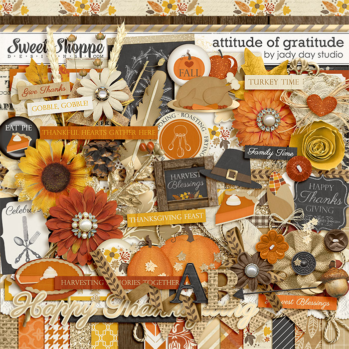 Attitude of Gratitude by Jady Day Studio
