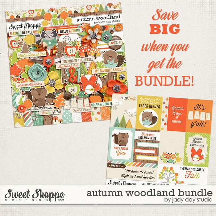 Autumn Woodland Bundle by Jady Day Studio