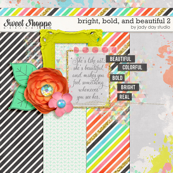 Bright, Bold, and Beautiful 2: Freebie by Jady Day Studio
