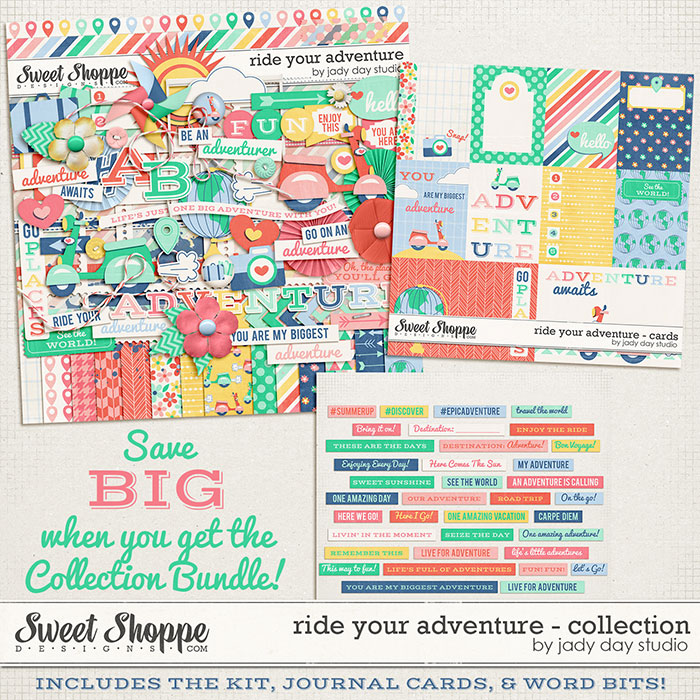 Ride Your Adventure - Collection Bundle by Jady Day Studio