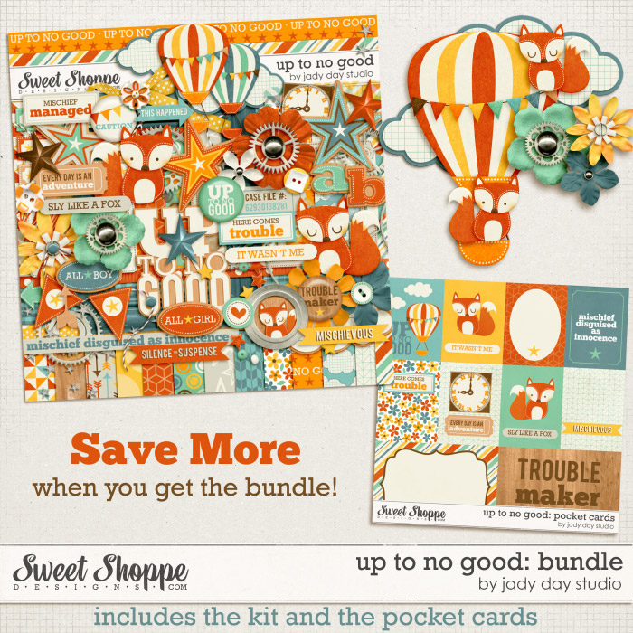 Up To No Good: Bundle by Jady Day Studio
