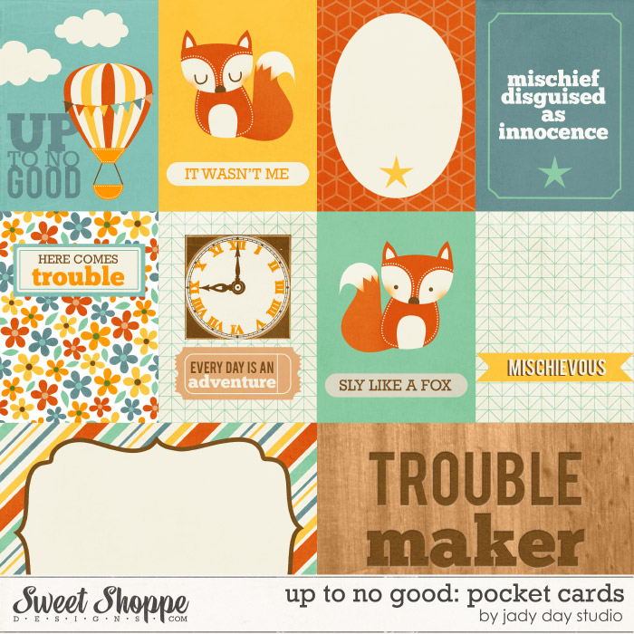 Up To No Good: Cards by Jady Day Studio