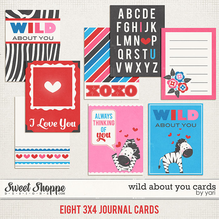 Wild About You Cards by Jady Day Studio