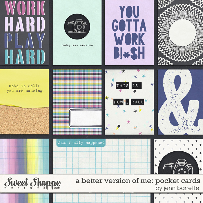 A Better Version of Me: Pocket Cards by Jenn Barrette