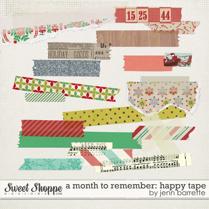 A Month of Memories: Happy Tape