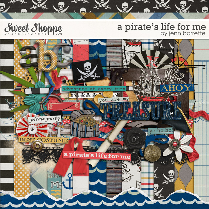 A Pirate's Life For Me by Jenn Barrette