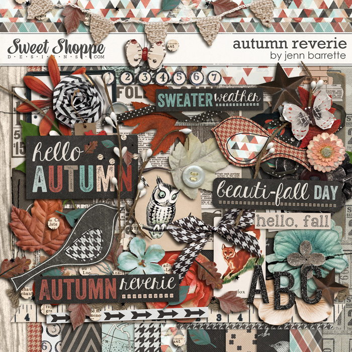Autumn Reverie by Jenn Barrette