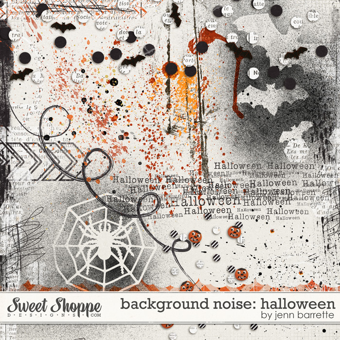 Background Noise: Halloween by Jenn Barrette