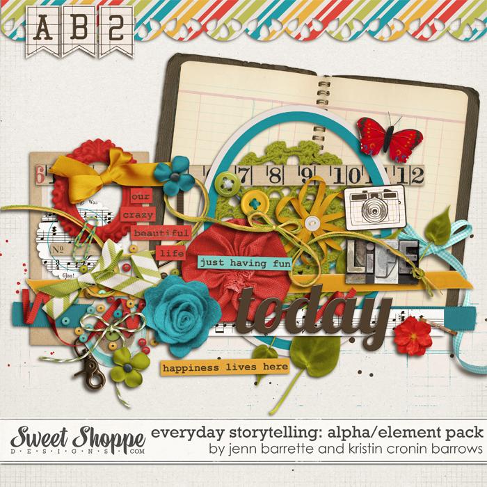 Everyday Storytelling: Elements by Jenn Barrette & Kristin Cronin-Barrow