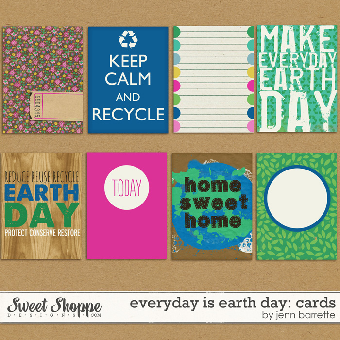 Everyday is Earth Day: Cards by Jenn Barrette