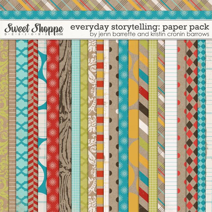 Everyday Storytelling: Papers by Jenn Barrette & Kristin Cronin-Barrow