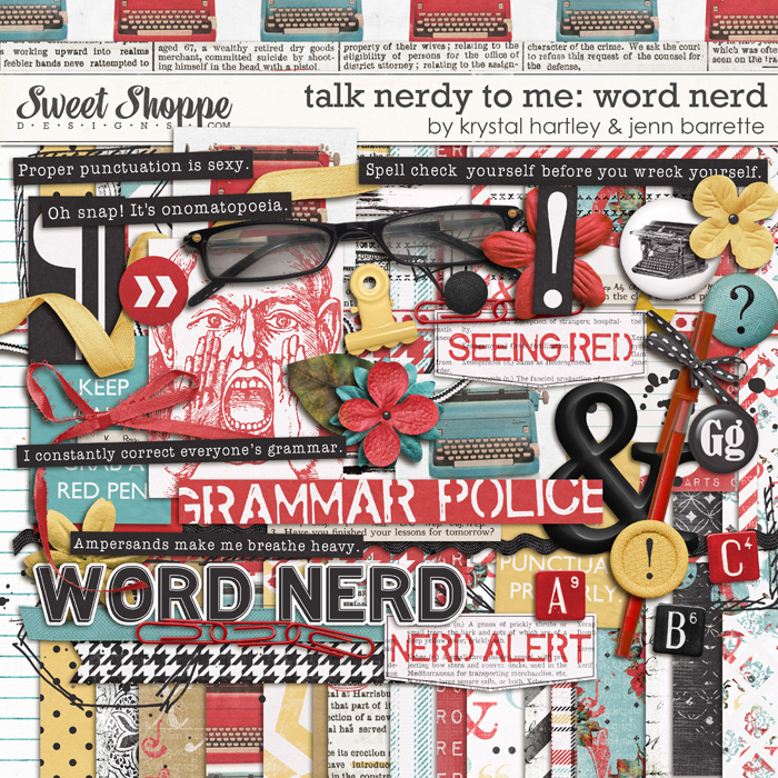 Talk Nerdy to Me: Word Nerd by Krystal Hartley and Jenn Barrette