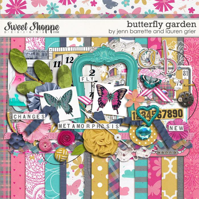 Butterfly Garden by Jenn Barrette and Lauren Grier