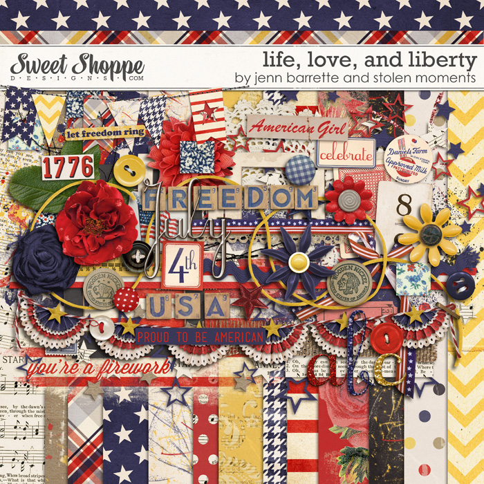 Life, Love and Liberty by Jenn Barrette and Stolen Moments