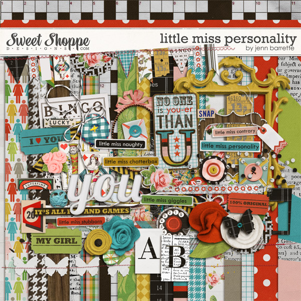 Little Miss Personality by Jenn Barrette