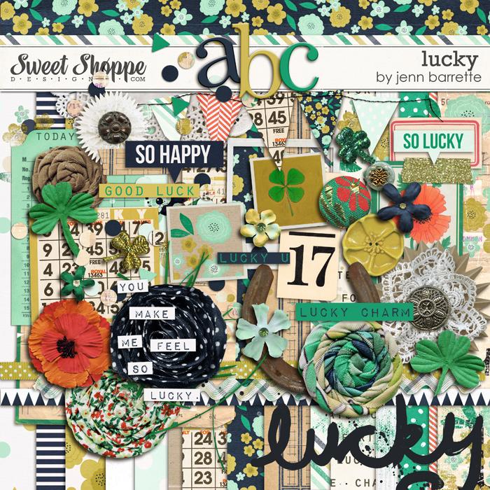 Lucky by Jenn Barrette