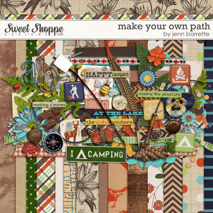 Make Your Own Path by Jenn Barrette