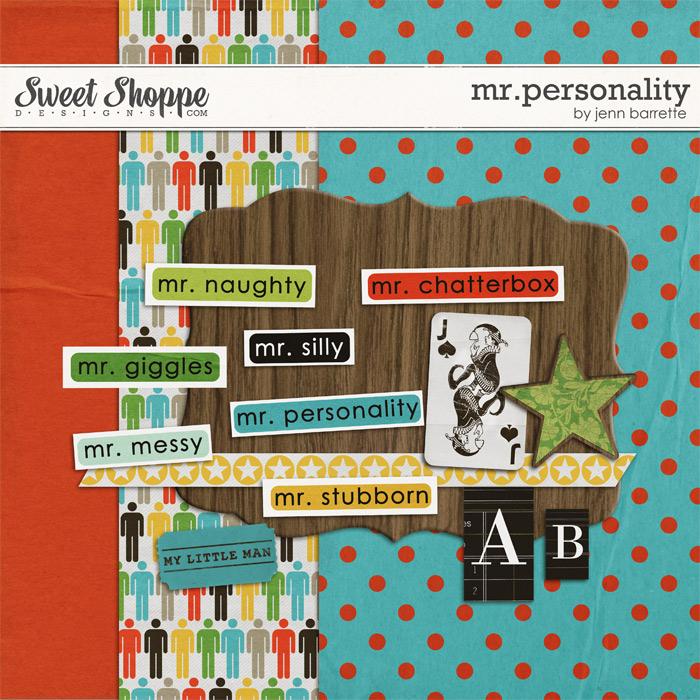 Mr. Personality by Jenn Barrette