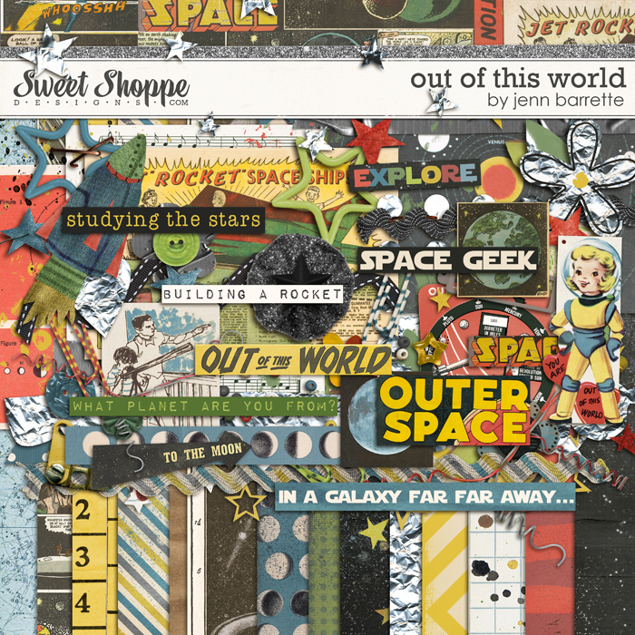 Out Of This World Kit by Jenn Barrette