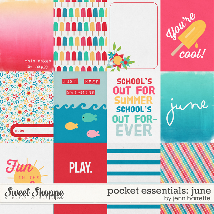 Pocket Essentials: June by Jenn Barrette