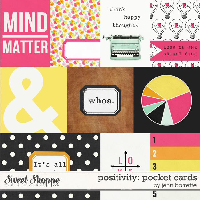 Positivity: Pocket Cards by Jenn Barrette