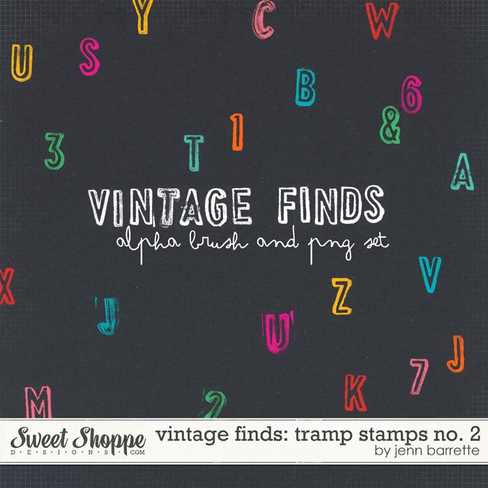 Vintage Finds: Tramp Stamps No. 2 by Jenn Barrette