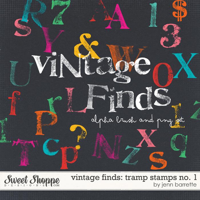 Vintage Finds: Tramp Stamps No. 1