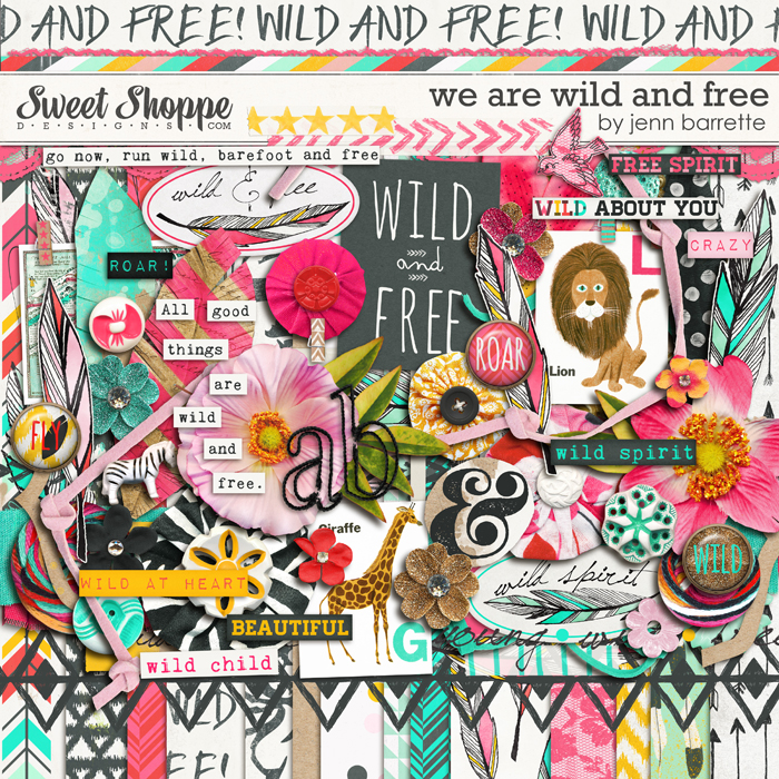 We Are Wild And Free by Jenn Barrette
