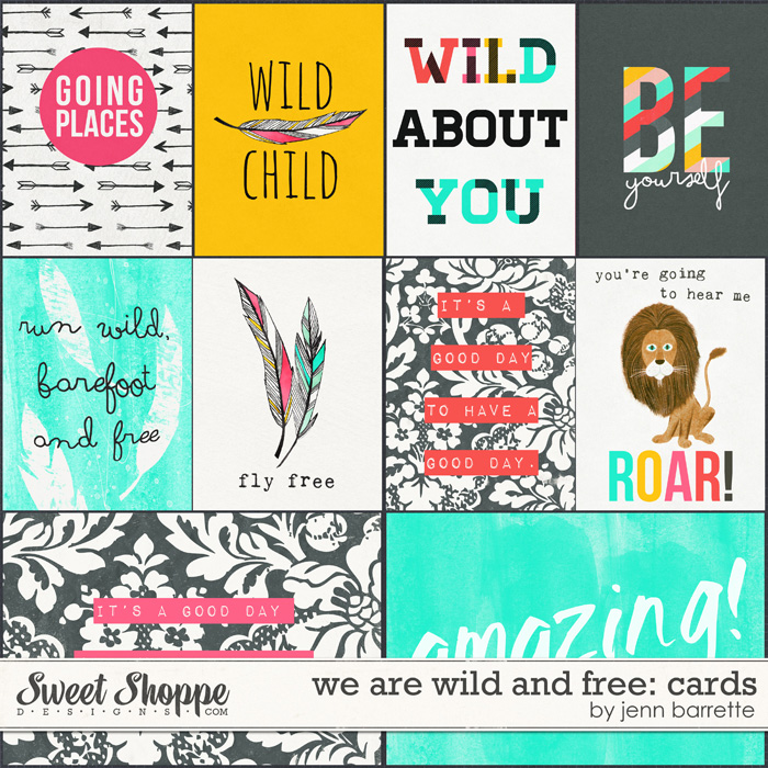 We Are Wild And Free: Cards by Jenn Barrette