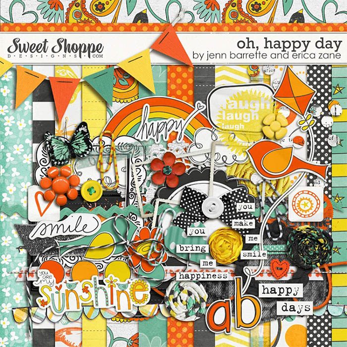 Oh, Happy Day by Jenn Barrette and Erica Zane