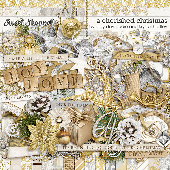 A Cherished Christmas by Jady Day Studio & Krystal Hartley