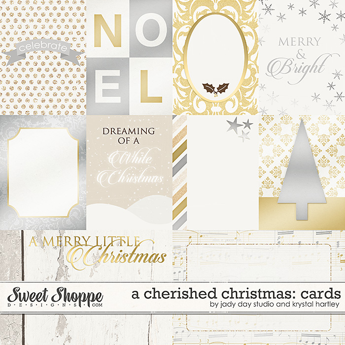 A Cherished Christmas: Cards by Jady Day Studio and Krystal Hartley