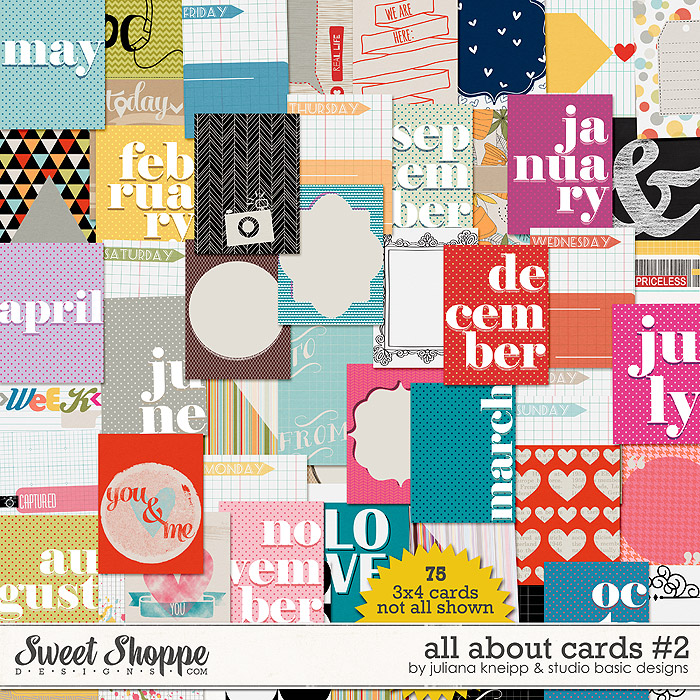 All About Cards #2 by Juliana Kneipp & Studio Basic Designs