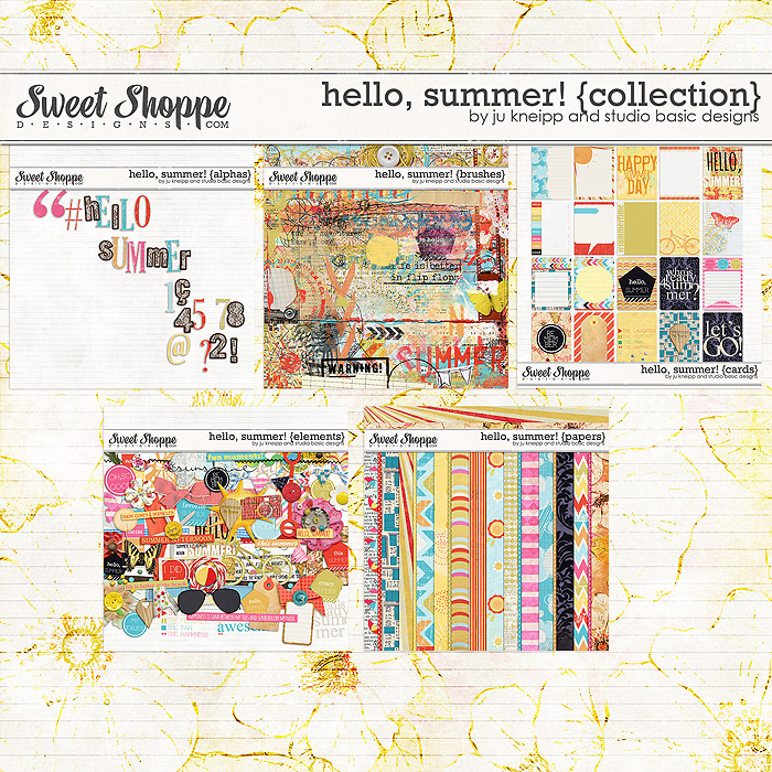 Hello, summer! {collection} by Juliana Kneippand Studio Basic