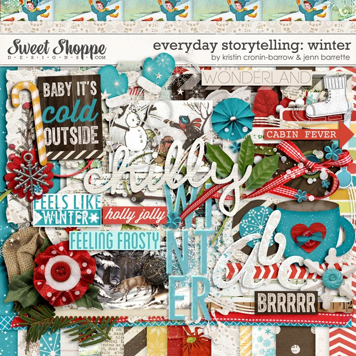 Everyday Storytelling: Winter by Kristin Cronin Barrow and Jenn Barrette