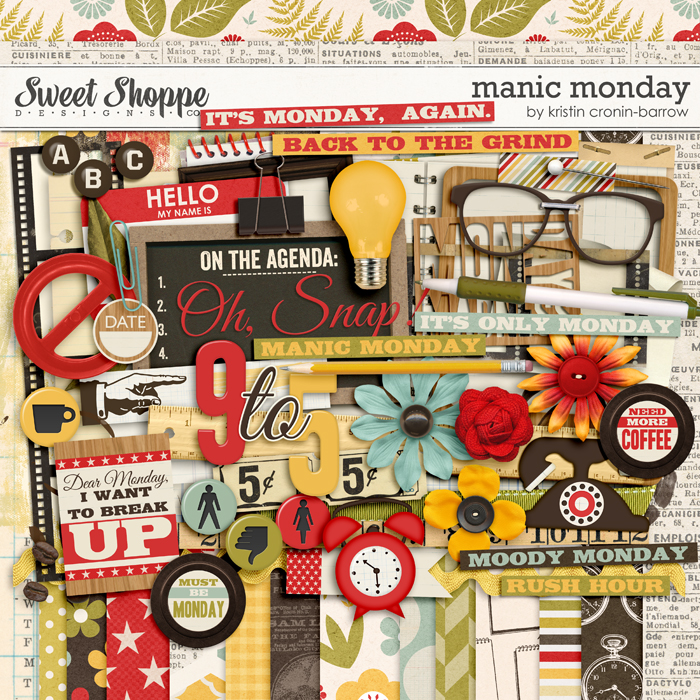 Manic Monday by Kristin Cronin-Barrow