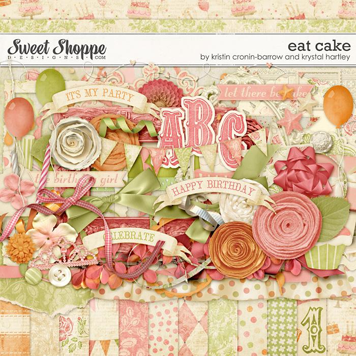 Eat Cake by Kristin Cronin-Barrow and Krystal Hartley