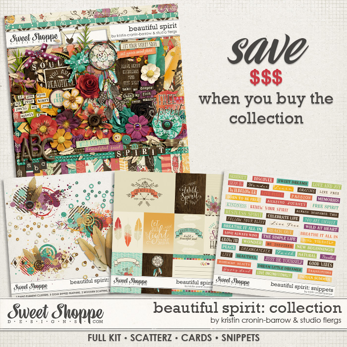 Beautiful Spirit: COLLECTION by Kristin Cronin-Barrow & Studio Flergs