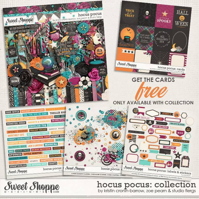 Hocus Pocus: COLLECTION by Kristin Cronin-Barrow, Zoe Pearn & Studio Flergs