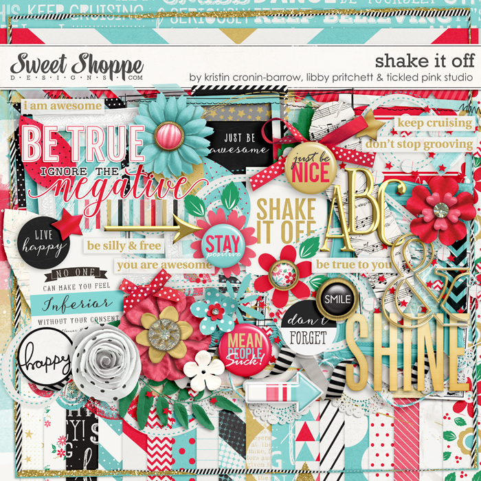Shake It Off by Kristin-Cronin-Barrow, Libby Pritchett & Tickled Pink Studio