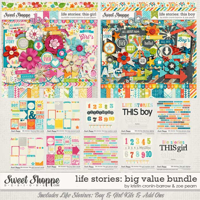 Life Stories: Big Value Bundle by Kristin Cronin-Barrow & Zoe Pearn